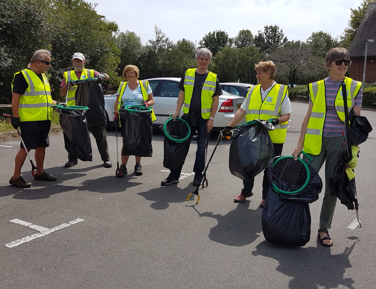 Litter Pickers Group Picture